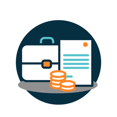 Business Purchase / Sale Icon